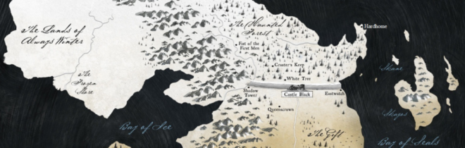 ゲーム・オブ・スローンズ 壁の地図