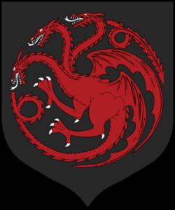 ターガリエン家 紋章