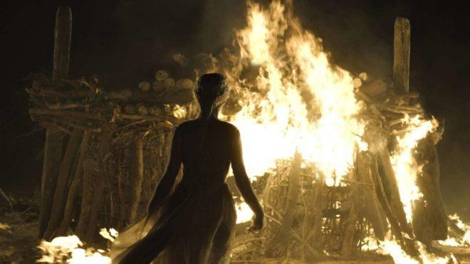 デナーリス 火葬儀式