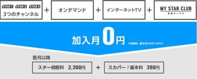 スカパー! 視聴料金 最新