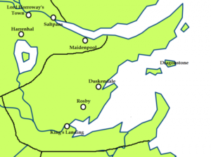 キングズ・ランディング 地図