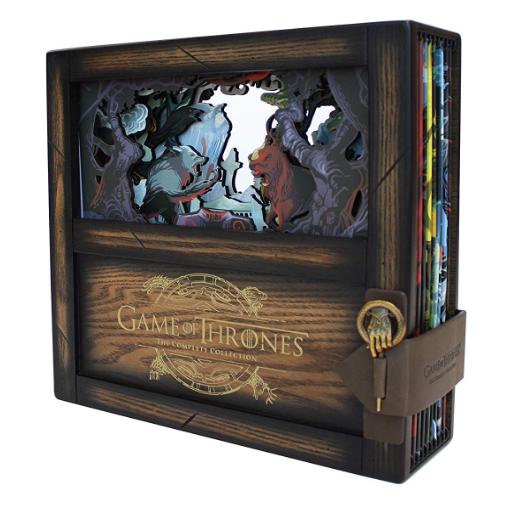 特別仕様 豪華ボックス ゲーム・オブ・スローンズ<第一章~最終章>ブルーレイ コンプリート・コレクション