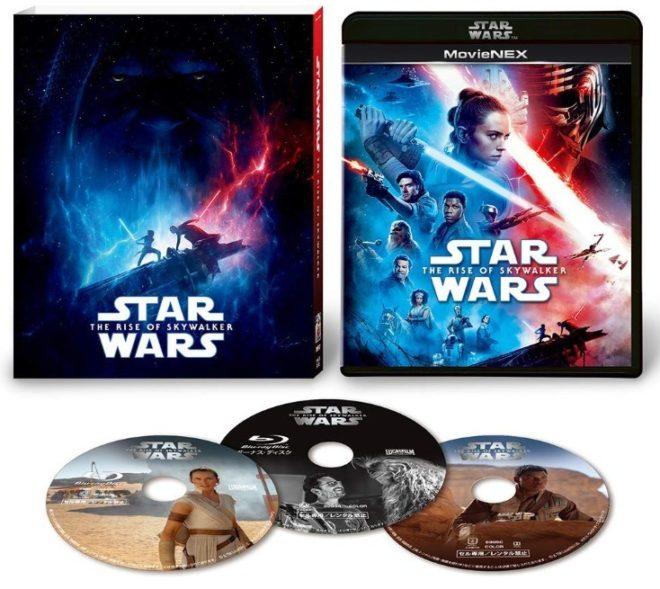 『スカイウォーカーの夜明け』【初回版】MovieNEX ブルーレイ&DVD(SWブラック・パッケージ、アウターケース付き)