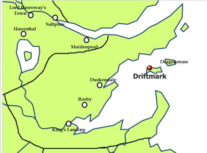 ドリフトマーク 地図