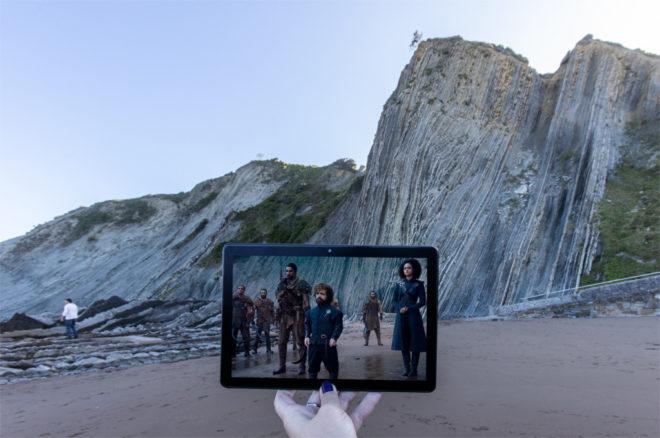ドラゴンストーン ロケ地 海岸